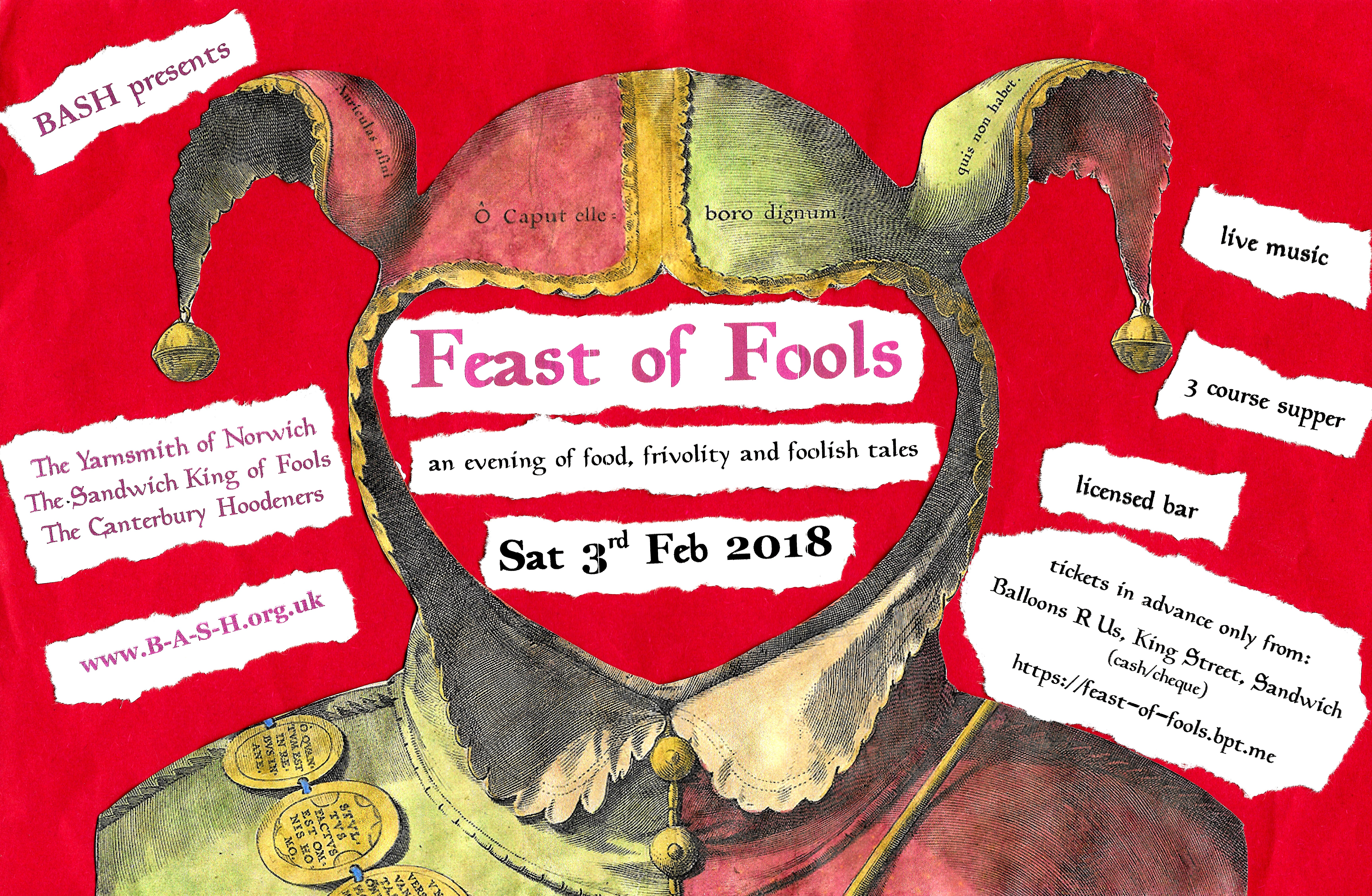 feast of fools poster bright